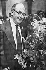 Photo of Reg & Ruth Witts at the 1980 show